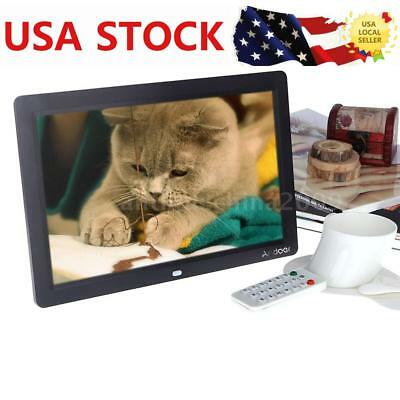12'' LCD HD Digital Photo Frame Picture Clock MP4 Video Player With Contorl C3D1