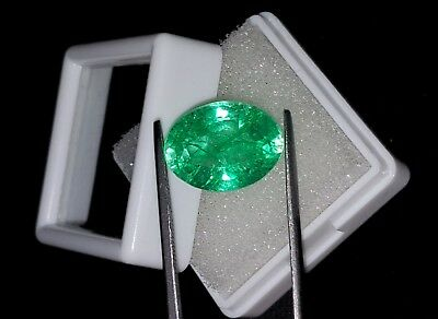 Amazing 8.56 Ct Oval Shape Natural Colombian With Certified Emerald eBay