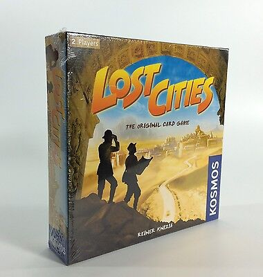 Lost Cities The Card Game Explore Ancient Civilizations Expedition New