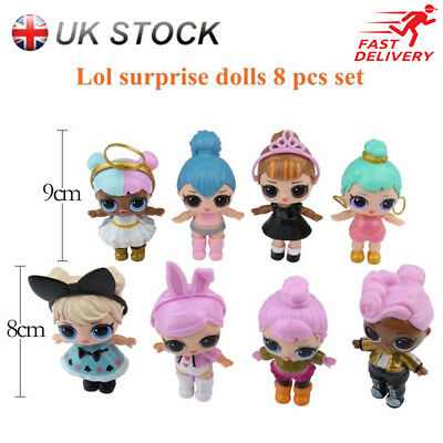 8 LOL Lil Outrageous 7 Layer Surprise Ball Series Dolls Blind Mystery Ball Toys