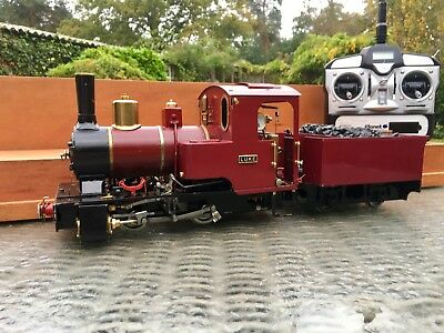 16mm SM32 G Gauge Roundhouse Billy Locomotive +Tender, R/C, steam whistle