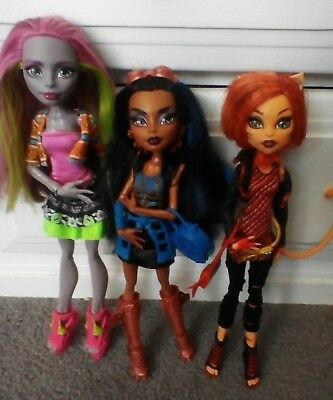 monster high dolls robecca steam toralei