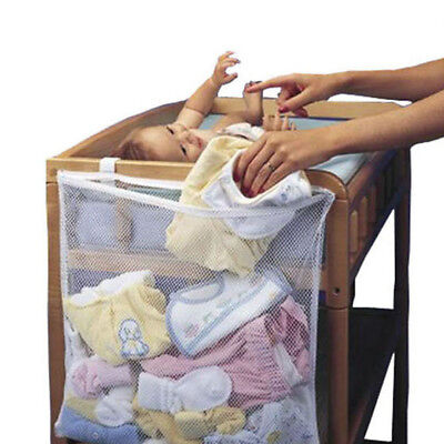 Baby Bed Hanging Storage Bag Diaper Pocket for Cradle Bedding Crib Toy