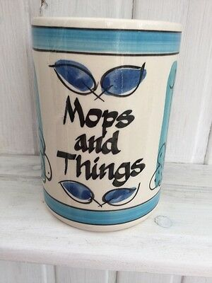 vintage 1960's Style Of toni raymond mops and things pot Do Not Recognise Maker