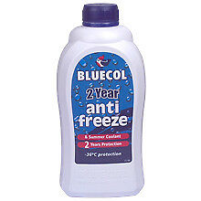 Brand New Bluecol 2 Year Protection Anti Freeze & Summer Coolant - 1 L
