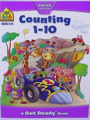 Counting 1-10 by Hinkler Books Ages 4-6 64P 216x276mm 77903*