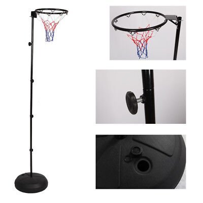 Netball Ring with Stand Portable Pole Height Adjustable Christmas Gift All Ages