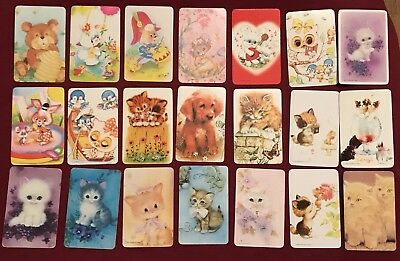 21 Mixed Collectable Swap Cards Playing Cards #34