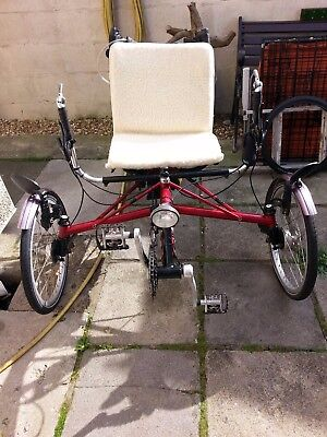 Recumbent Trike for sale Pashleypdq3 customised, One of a kind! only 1 owner