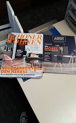 zeitschrift sch ner wohnen ausgabe november 2017 11 2017 ungelesen eur 1 00 picclick de. Black Bedroom Furniture Sets. Home Design Ideas