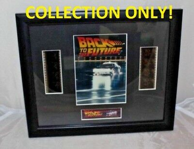 CP) Back to the Future Film Cell Framed **MK COLLECTION ONLY**