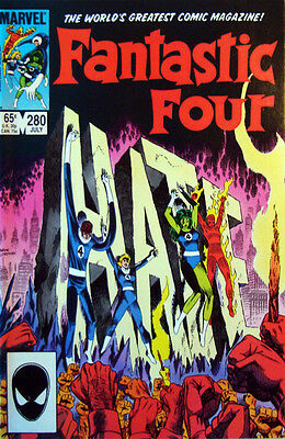 Fantastic Four Vol.1  280 from 1985 John Byrne Art .Very nice condition