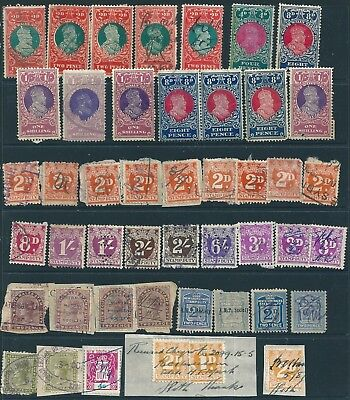 N.S.W. , 46 Pre Decimal Stamp Duty , Revenue / Tax stamps , mainly used .(N)