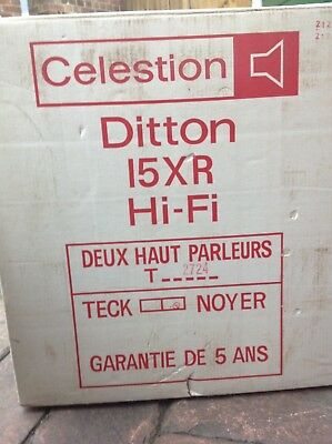 Ditton 15 XR hifi speakers