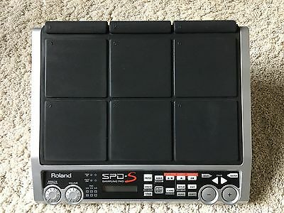 Roland SPD-S (Drum Sample Pad) with power supply.