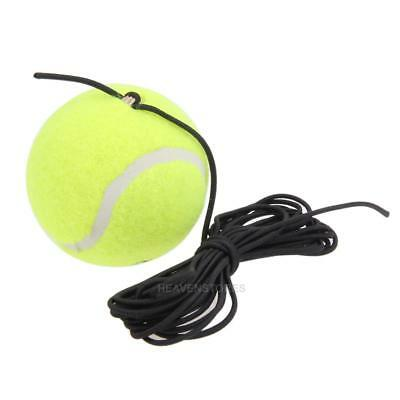 High Quality Rubber Woolen Tennis Balls Trainer Tennis Ball with String hv2n