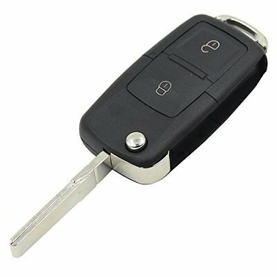 Remote Key Fob Button 2 Case Shell For VW Passat Polo Jetta Golf Touran Sharan