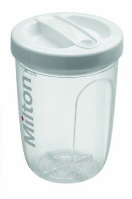 Milton Solo Travel Steriliser White Fast And Easy To Use Unique Patented Safety