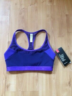Under Armour Breathe Mid Impact Sports Bra Ladies XS (8) *BRAND NEW*