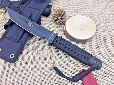 Tactical Fixed Blade Knife,5Cr15Mov Blade, Outdoor Hunting Knife