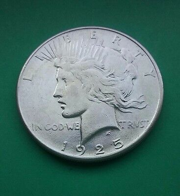 USA 1925 Silver Peace Dollar