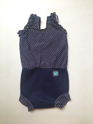 Splash About Happy Nappy Swimming Costume (Large/6-14Mths)