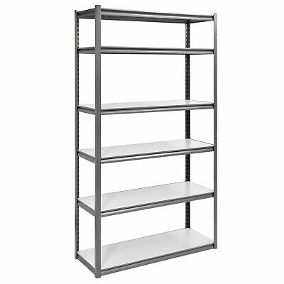 Muscle Rack UR4818HPSVL6 Boltless Storage Rack with 6 Shelves, 3000 lb Capacity,