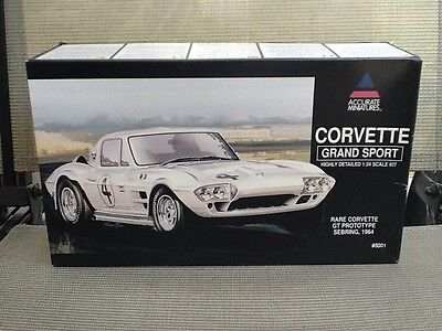 ACCURATE Miniatures 1/24 CORVETTE GRAND SPORT #4 Model Kit # 5001