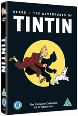 Adventures of Tintin: Complete Collection  DVD NEW