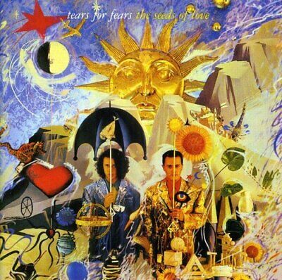 Cd Tears For Fears The Seeds Of Love Nuovo Sigillato Originale Sealed Original N