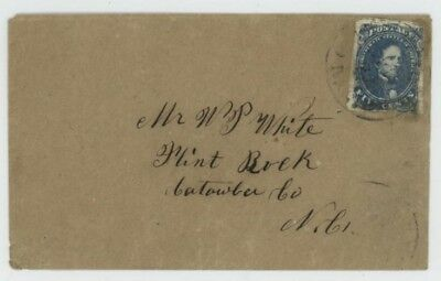 Mr Fancy Cancel CSA 4a DARK BLUE ON HOMEMADE COVER CV$275 + $50 EX-KAUFMANN