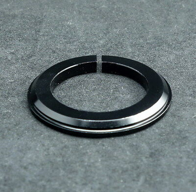 """J&L 1-1/8"""" to 1-1/2"""" Tapered Steer tube Conversion Crown Race/Ring-fork Adapter"""