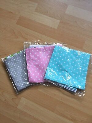 Tree Pack Cute Baby Pillowcases, 40cm By 40cm, Organic Cotton