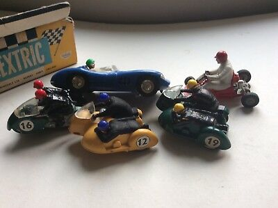 Vtg Lot Scalextric Typhoon Hurricane Go Kart Aston Martin Mm B1 B2 K1 C57 Triang