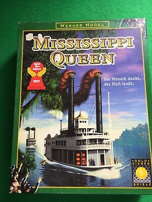 Mississippi Queen Boardgame