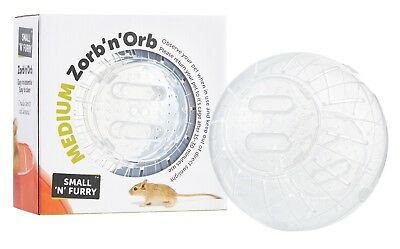 Zorb 'n' Orb Exercise Jogging Travel Play Ball Hamsters Mice Rats Degus Gerbils