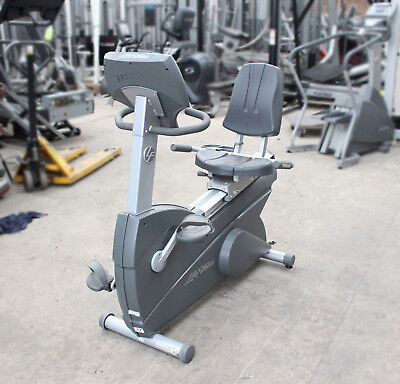 Life Fitness 95RI Recumbent Bike Commercial Gym Equipment
