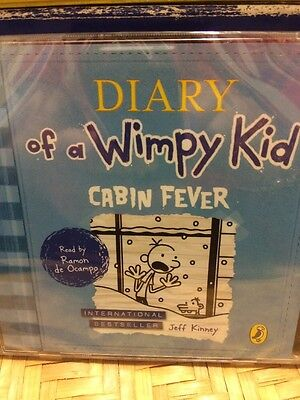 The Diary Of A Wimpy Kid-Cabin Fever-2CD Audio-new/sealed