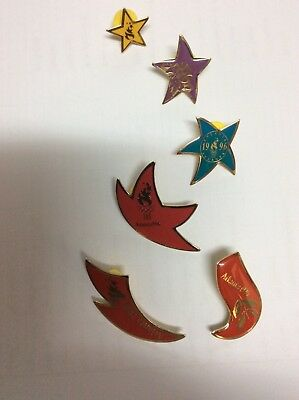 Atlanta Olympic Games 1996 McDonalds McScavenger Hunt Cap and Pins