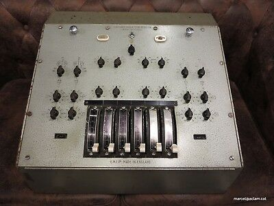 EMI REDD 59 vintage mixer made in the uk abbey road beatles gear the shadows