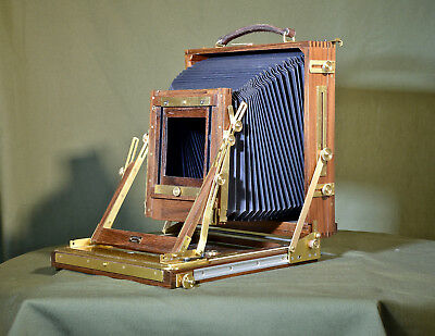 Gandolfi wooden 10X8 field camera