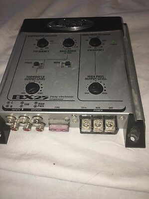 Boss BX25 2-Way Electronic Crossover C9