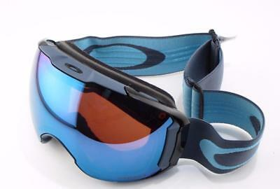 New Oakley Snow Goggles Airbrake XL Prizm Sapphire/Rose 2 Lens  #7071-24 In Box