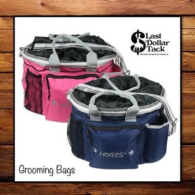 Grooming Bag ~ Handy Storage For Your Brushes/veterinary Stuff ~Travel Or Stable