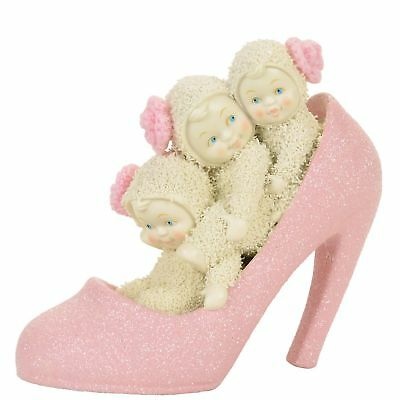 Snowbabies 4058778 If the Shoe Fits Pink Heel