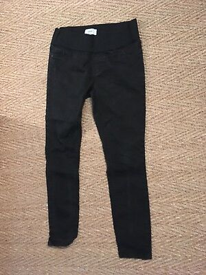 New Look Black Maternity Jeans Jeggings Size 12-14  Under the Bump