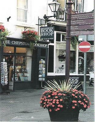 Chepstow, Monmouthshire - Chepstow Bookshop - postcard