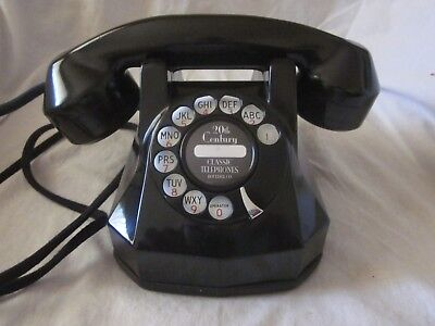 Automatic Electric Model 40 Bakelite Dial Telephone