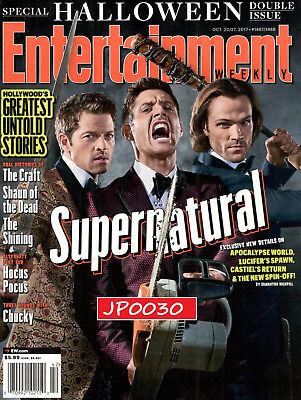 Entertainment Weekly Supernatural Oct 2017, Halloween Special, Brand New/Sealed