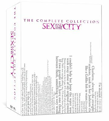 Sex and the City: Complete Series Collection Seasons 1-6 (DVD, 2014 17-Disc Set)